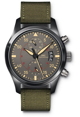 Best IWC Pilot's Double Chronograph Top Gun replica watches on sale
