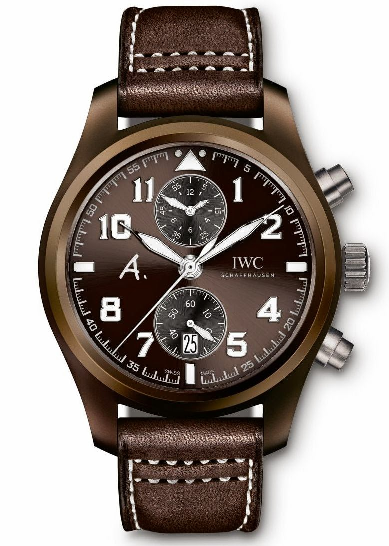 IWC Pilot's Watch Chronograph Edition The Last Flight IW388006 replica