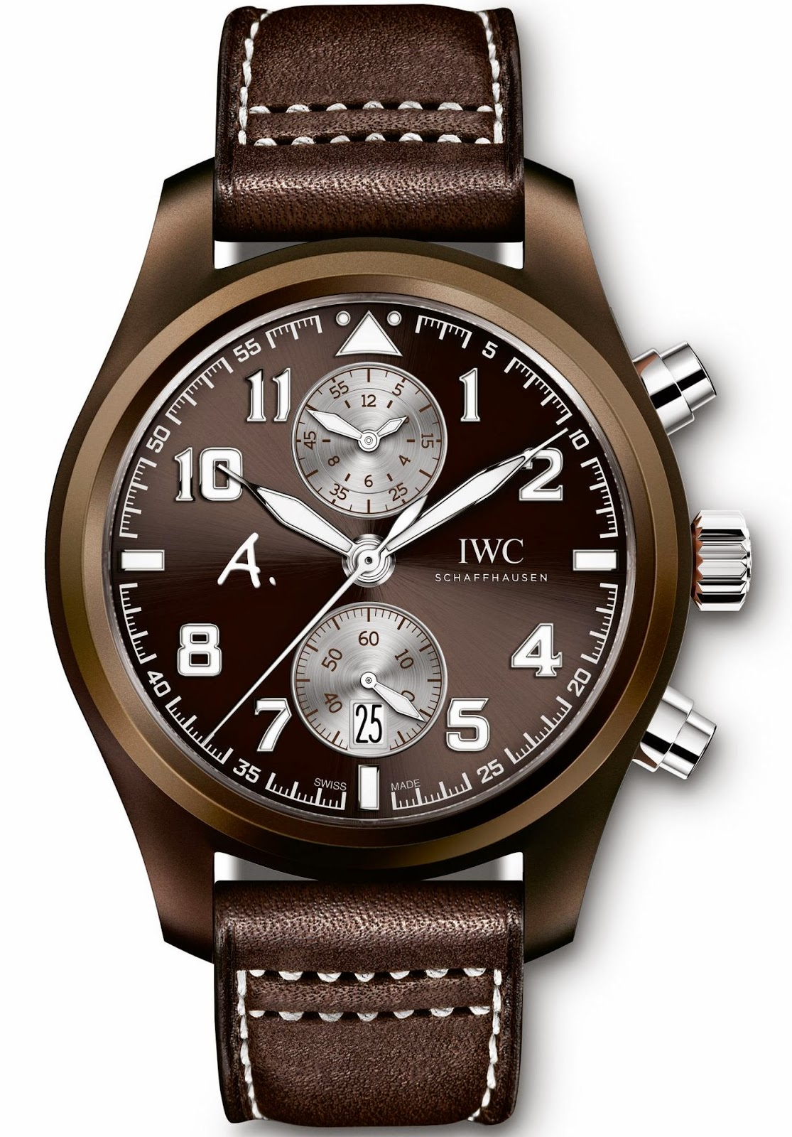 IWC Pilot's Watch Chronograph Edition The Last Flight IW388004 replica