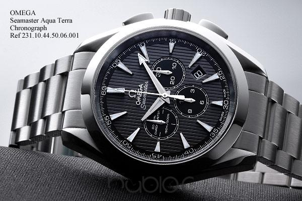 OMEGA SEAMASTER COLLECTION Aqua Terra Chronograph 231.10.44.50.0