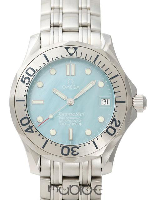 OMEGA SEAMASTER COLLECTION 300 Boys BLUE SHELL 2050.71