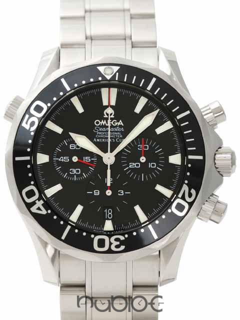 OMEGA SEAMASTER COLLECTION AMERICA \ 'SCUP RACING CHRONOGRAPH 2