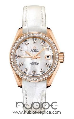 Omega Aqua Terra Ladies Automatic 231.58.30.20.55.001