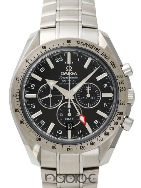 OMEGA SPEEDMASTER COLLECTION BROAD ARROW CO-AXIAL GMT Mode