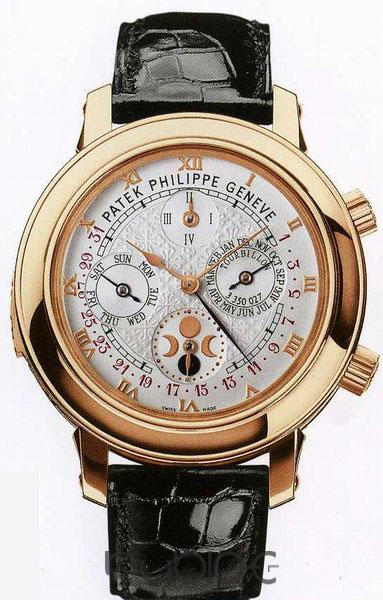 PATEK PHILIPPE Sky Moon Tourbillon Mens 5002P 5002P