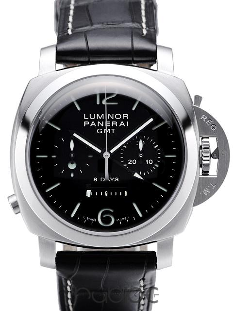 Panerai Luminor 1950 8Days GMT Chronograph Monopulsante PAMPAM00