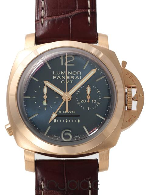 Panerai Luminor 1950 8Days GMT Chronograph Monopulsante PAMPAM0