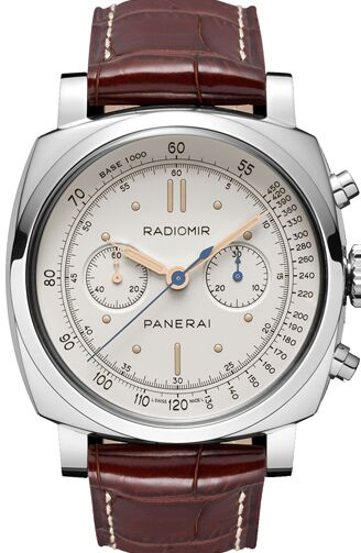 Panerai Radiomir 1940 Chronograph Platino Mens Watch