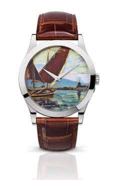 Patek Philippe Calatrava Lake Geneva Barques Watch