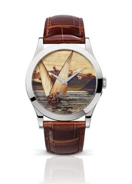 Patek Philippe Calatrava Lakeside Scenes Watch