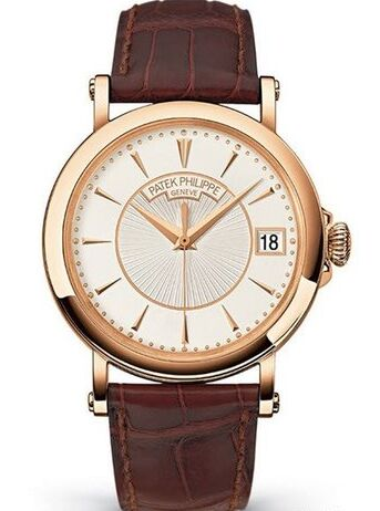 Patek Philippe Calatrava Officers Watch 5153R in Rose Gold Watch