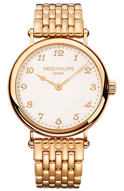 Patek Philippe Calatrava Rose Gold Ladies Watch