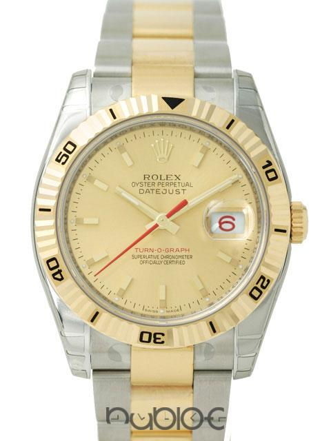 ROLEX DATEJUSTTURN-O-GRAPH 116263B