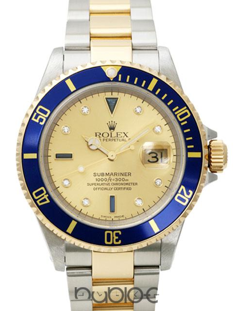 ROLEX SUBMARINERDATE 16613SGA