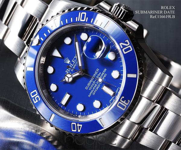 ROLEX SUBMARINERDATE 116619LB