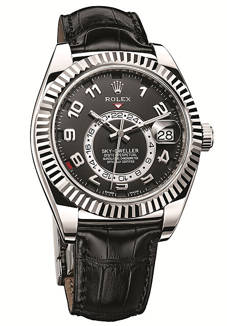Rolex Sky-Dweller White Gold Black Dial 326139
