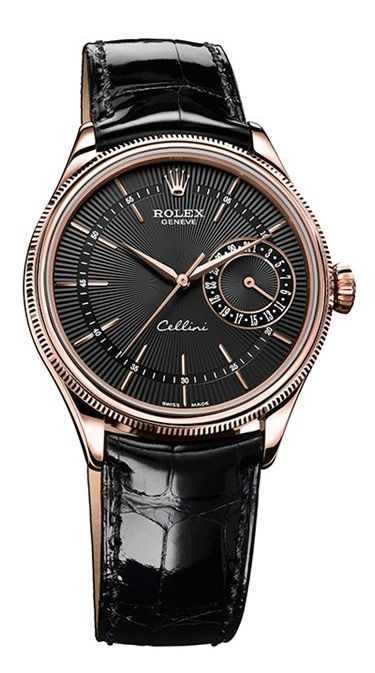 Rolex Cellini Date Everose Gold Watch 50515 bkbk