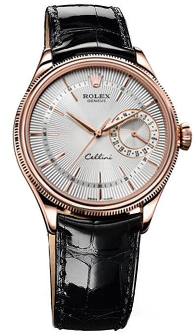 Rolex Cellini Date Everose Gold Watch 50515 sbr