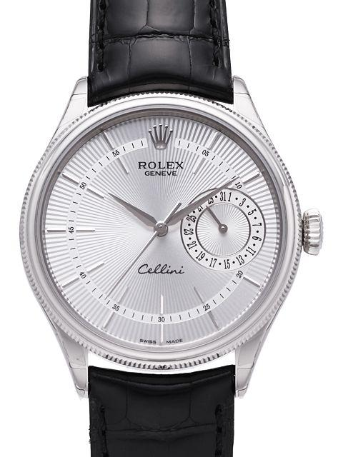 Rolex Cellini Date White Gold Watch 50519 sbk