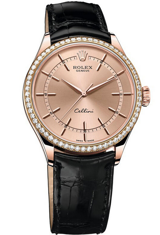 Rolex Cellini Time Everose Gold 50705RBR