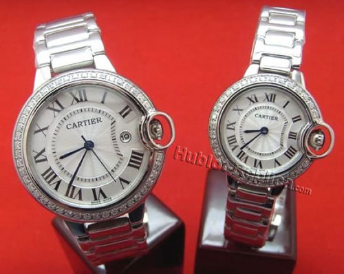 CARTIER ballon bleuWATCH, SMALL MODEL WE9003Z3