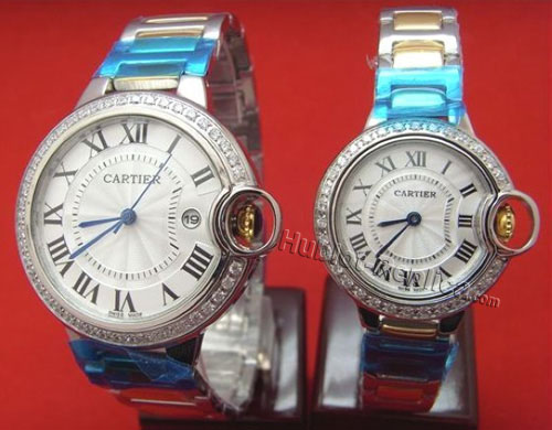 CARTIER ballon bleuWATCH, SMALL MODEL WE9003Z3-1