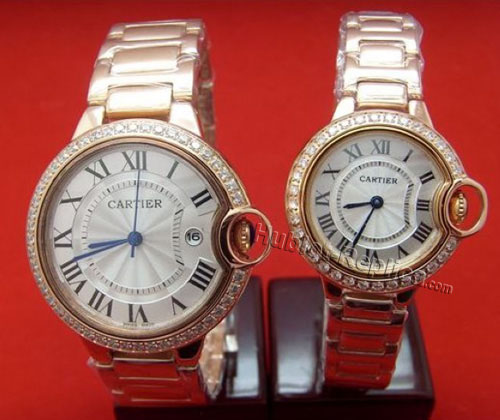 CARTIER ballon bleuWATCH, SMALL MODEL WE9003Z3-2
