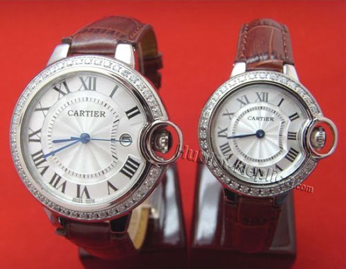 CARTIER ballon bleuWATCH, SMALL MODEL WE9003Z3-3