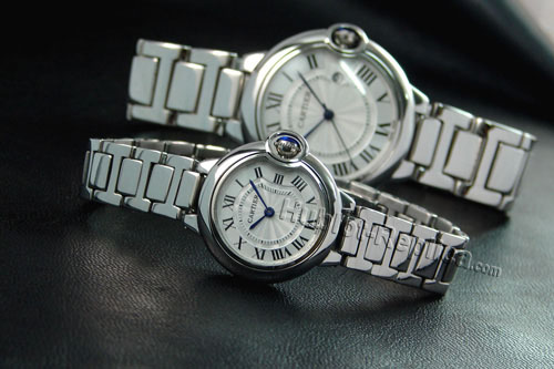 CARTIER ballon bleu WATCH, SMALL MODEL WE9003Z3-7