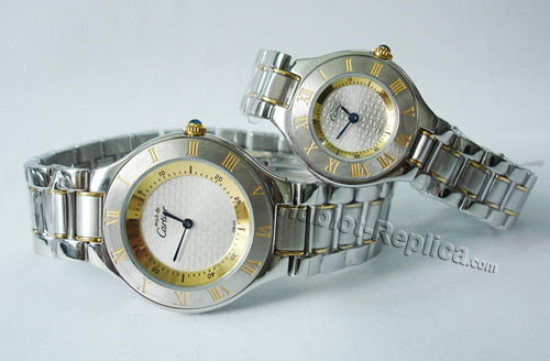 CARTIER 21 MUSTDE CARTIER, SMALL MODEL W10073R6