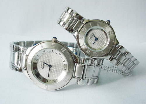 CARTIER 21 MUST DE CARTIER, SMALL MODEL W10109T2