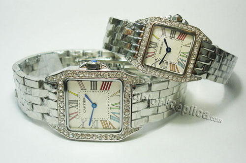 CARTIER SANTOS DEMOISELLE, MINI MODEL WF9005Y8