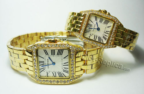 CARTIER SANTOS DEMOISELLE, MINI MODEL WF9011Z8