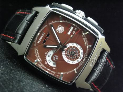 TAG HEUER Monaco LS CALIBRE 12 MITOYA ENGINE PVD LEATHER BROWN