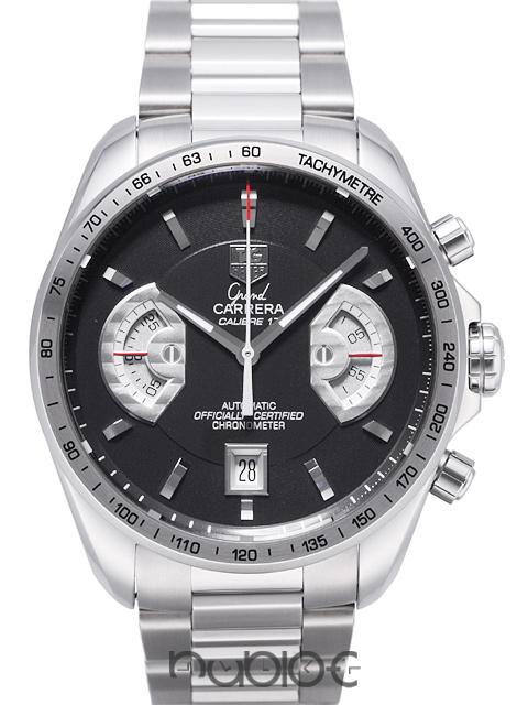 TAG Heuer Grand Carrera Chronograph Calibre 17RS CAV511G.BA0905