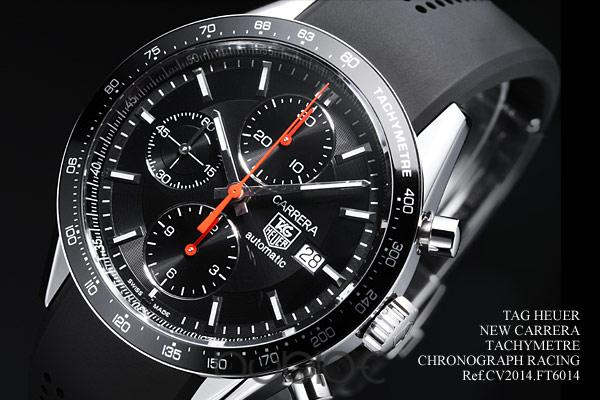 TAG Heuer Grand Carrera NEW CARRERA TACHYMETRE CHRONOGRAPH RACIN CV2014.FT6014