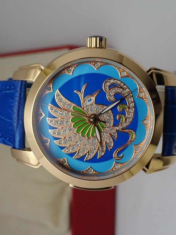 Ulysse Nardin bird blue/black dial replica watches