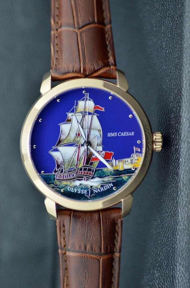 Ulysse Nardin Hms CAESER BOATS replica watches BLUE