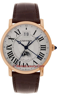 Cartier Rotonde de Cartier Large Date Second Time-ZoneW1556220