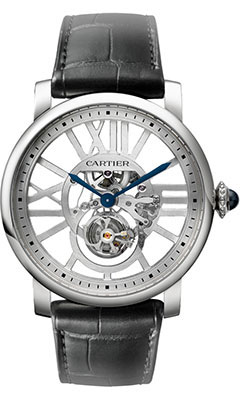 Cartier Rotonde de Cartier Skeleton Flying TourbillonW1580031