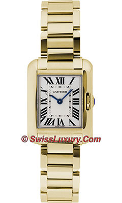 Cartier Tank Anglaise Yellow GoldW5310014