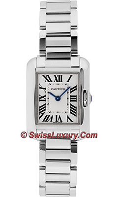 Cartier Tank Anglaise White GoldW5310023