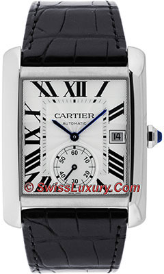 Cartier Tank MC Stainless SteelW5330003