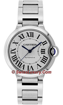 Cartier Ballon Bleu Stainless SteelW6920046