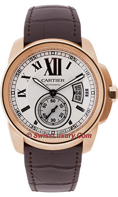 Cartier Calibre de Cartier Automatic GoldW7100009