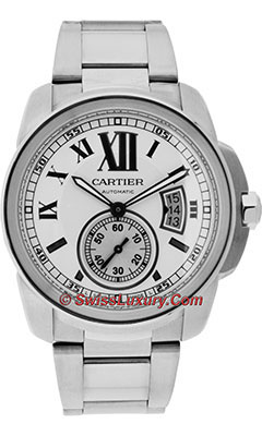 Cartier Calibre de Cartier Automatic SteelW7100015