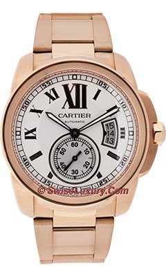 Cartier Calibre de Cartier Automatic GoldW7100018