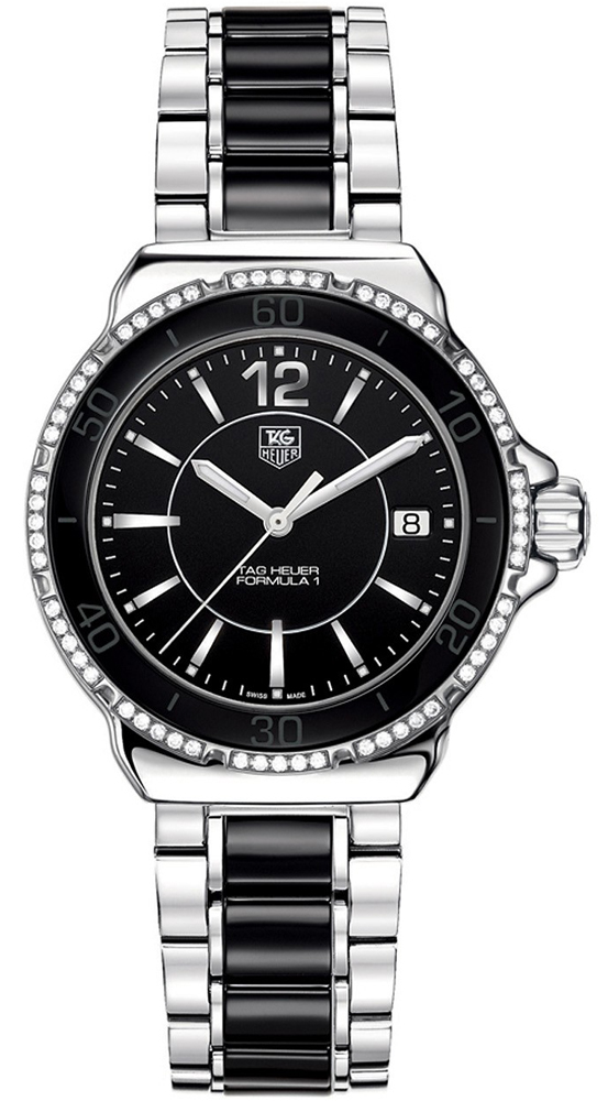 Tag Heuer Formula 1 Steel and Ceramic Diamonds 37 mm