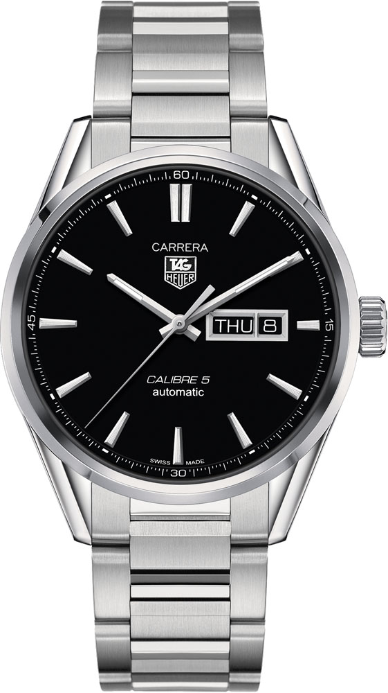 TAG Heuer Carrera Calibre 5 Day-Date Automatic Watch 41 mm WAR201A.BA0723