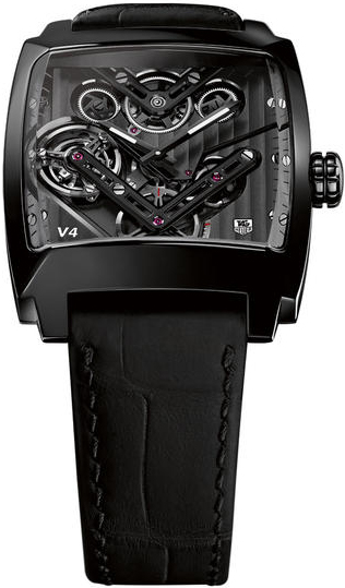 TAG Heuer Monaco V4 Tourbillon Watch WAW2081.FC6348